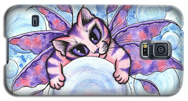 Bubble Fairy Kitten Galaxy S5 Case by Carrie Hawks