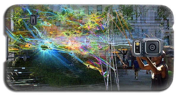 Bubble Maker Collage 1 Galaxy S5 Case
