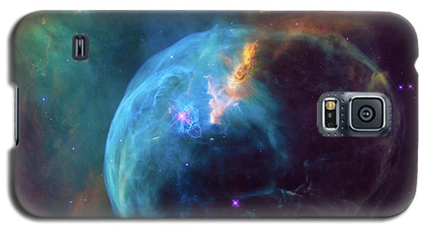 Galaxy S5 Case featuring the photograph Bubble Nebula by Marco Oliveira
