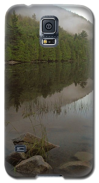 Galaxy S5 Case featuring the photograph Bubble Pond Reflections by Stephen  Vecchiotti