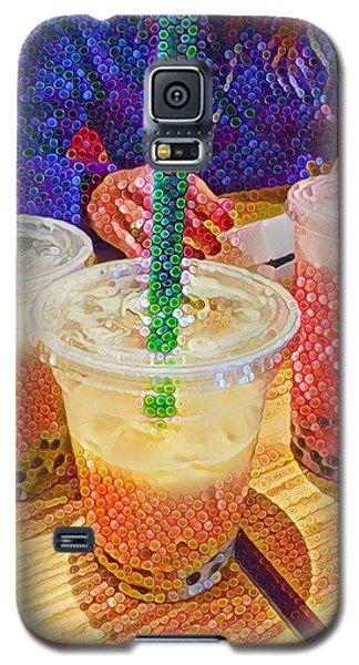 Bubble Tea For Three Galaxy S5 Case