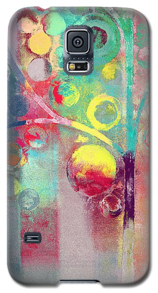 Galaxy S5 Case featuring the painting Bubble Tree - 285l by Variance Collections