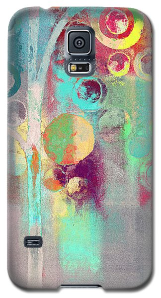 Galaxy S5 Case featuring the digital art Bubble Tree - 285r by Variance Collections