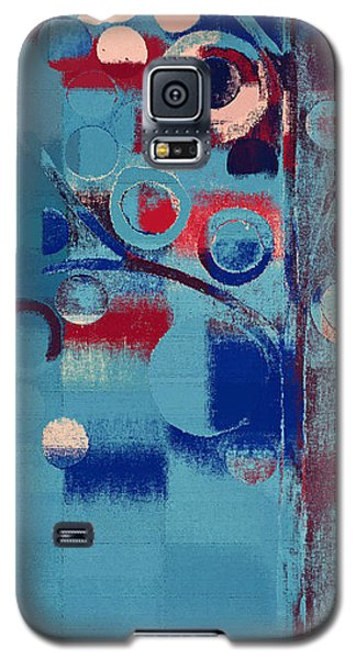 Galaxy S5 Case featuring the painting Bubble Tree - 85e-j4 by Variance Collections