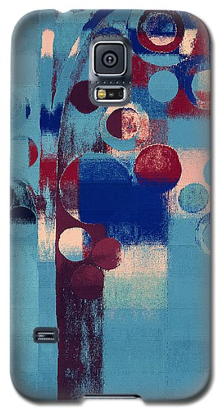 Galaxy S5 Case featuring the painting Bubble Tree - 85l-j4 by Variance Collections