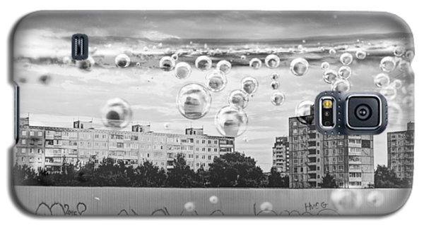 Bubbles And The City Galaxy S5 Case