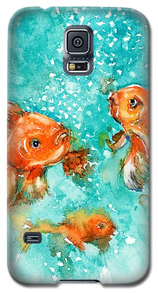 Bubbles Galaxy S5 Case by Judith Levins