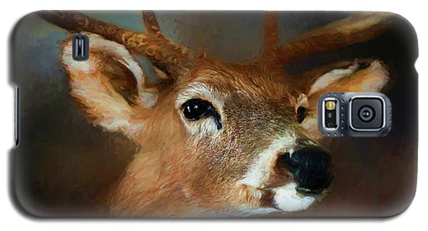 Galaxy S5 Case featuring the photograph Buck by Darren Fisher