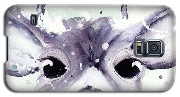 Galaxy S5 Case featuring the painting Buck by Dawn Derman