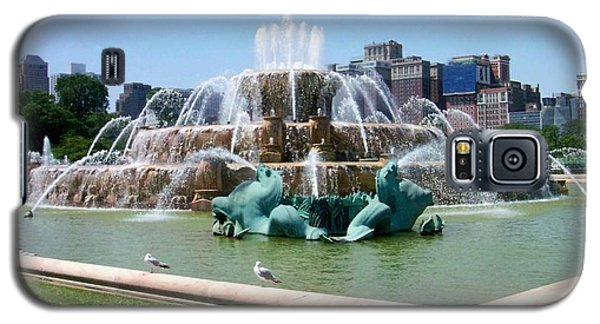 Buckingham Fountain Galaxy S5 Case by Anita Burgermeister