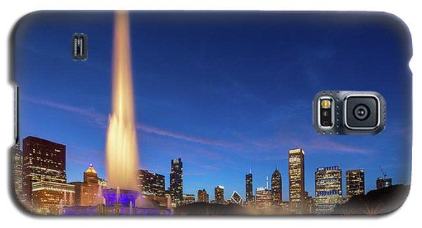 Buckingham Fountain At Dusk Galaxy S5 Case