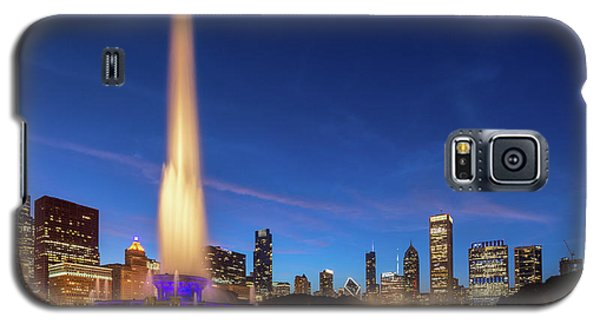 Buckingham Fountain At Dusk Galaxy S5 Case