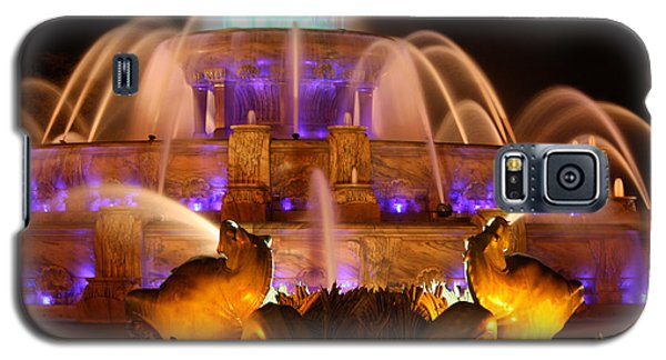 Buckingham Fountain At Night Galaxy S5 Case