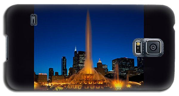 Buckingham Fountain Nightlight Chicago Galaxy S5 Case