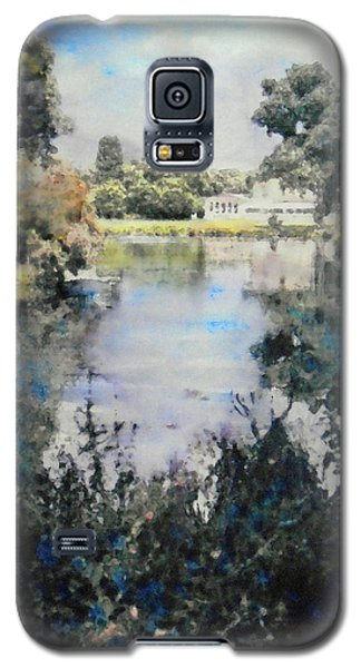 Buckingham Palace Garden - No One Galaxy S5 Case by Richard James Digance