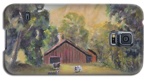 Bucks County Pa Barn Galaxy S5 Case by Luczay