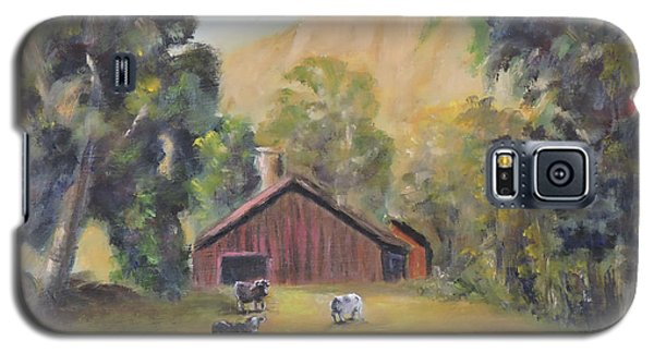 Bucks County Pa Barn Galaxy S5 Case
