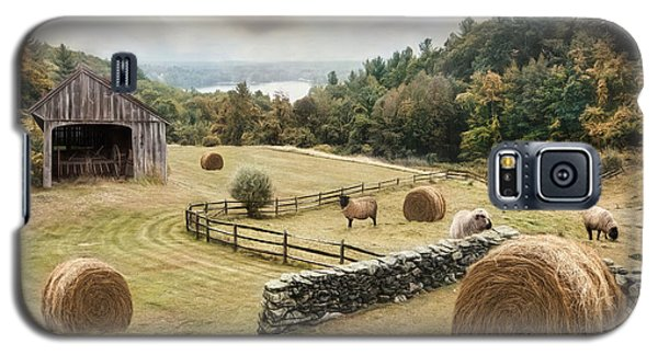 Galaxy S5 Case featuring the photograph Bucolic by Robin-Lee Vieira