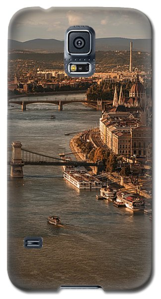 Galaxy S5 Case featuring the photograph Budapest In The Morning Sun by Jaroslaw Blaminsky