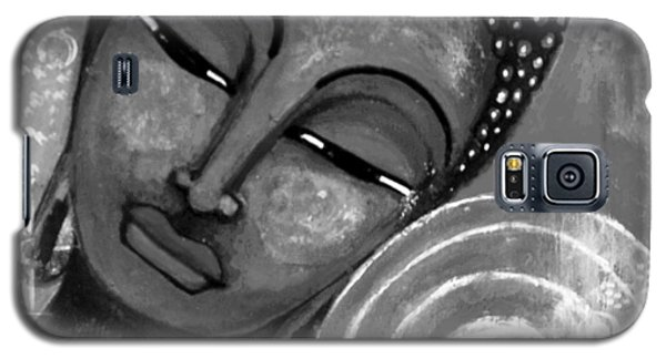 Buddha In Grey Tones Galaxy S5 Case