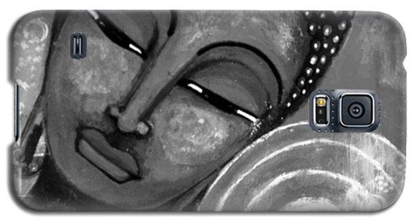 Buddha In Grey Tones Galaxy S5 Case