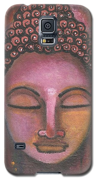Buddha In Shades Of Purple Galaxy S5 Case