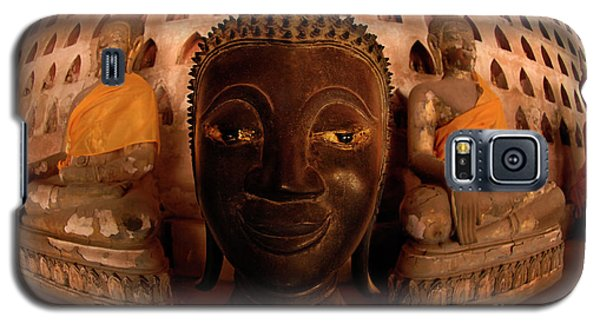 Galaxy S5 Case featuring the photograph Buddha Laos 1 by Bob Christopher