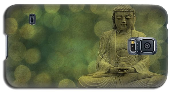 Buddha Light Gold Galaxy S5 Case