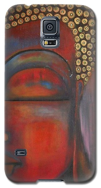 Buddha With Floating Lotuses Galaxy S5 Case