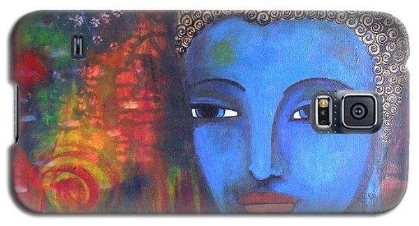 Buddha Within A Circular Background Galaxy S5 Case