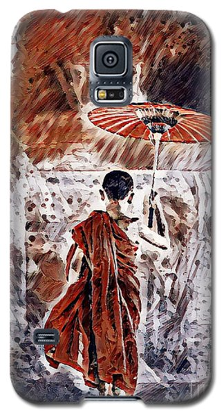 Buddhist Monk Galaxy S5 Case