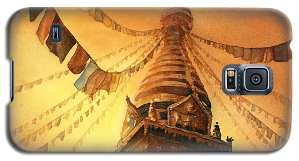 Buddhist Stupa- Nepal Galaxy S5 Case