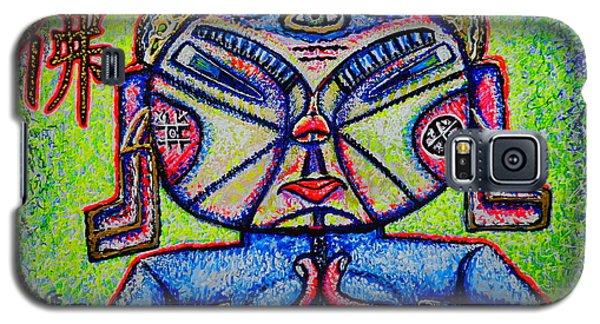 Buddhist/sketch/ Galaxy S5 Case by Viktor Lazarev