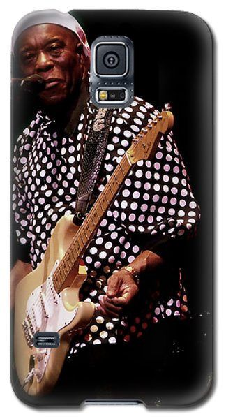 Buddy Guy  Straight Talk  Galaxy S5 Case by Iconic Images Art Gallery David Pucciarelli