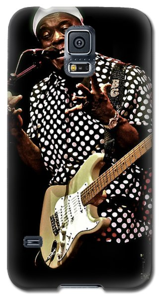 Buddy Guy  Vault Galaxy S5 Case by Iconic Images Art Gallery David Pucciarelli