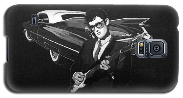 Buddy Holly And 1959 Cadillac Galaxy S5 Case