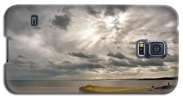 Budleigh Salterton Beach Galaxy S5 Case