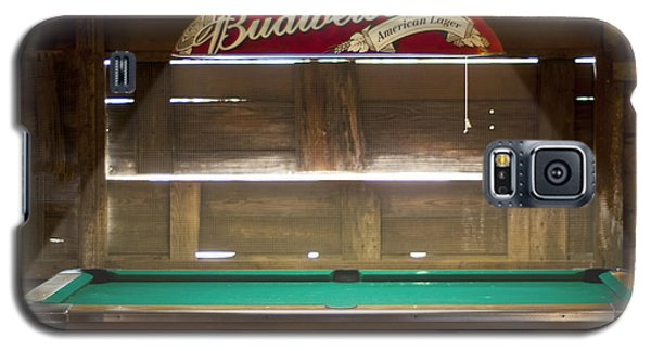 Budweiser Light Pool Table Galaxy S5 Case