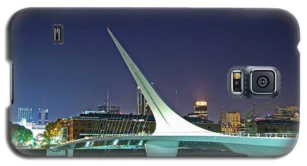 Buenos Aires - Argentina - Puente De La Mujer At Night Galaxy S5 Case