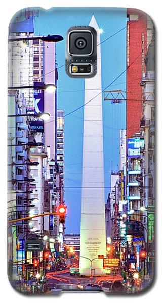 Buenos Aires Obelisk Galaxy S5 Case by Bernardo Galmarini