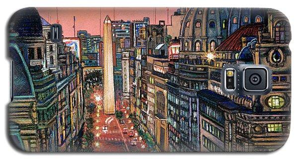 Buenos Aires Twilight Galaxy S5 Case by Bernardo Galmarini