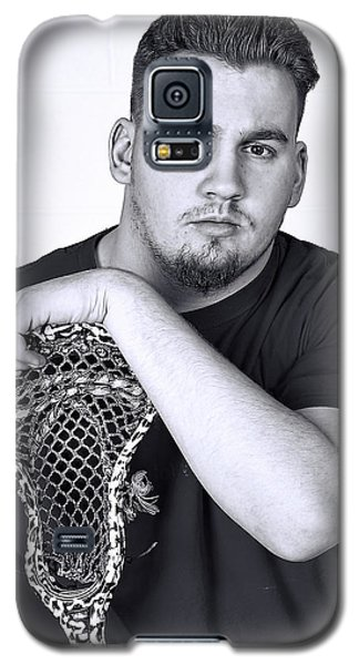 Buff Lacrosse Player Galaxy S5 Case