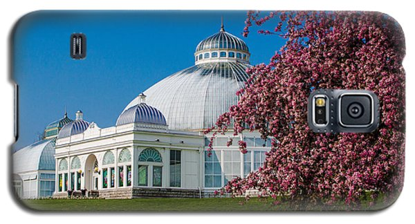 Galaxy S5 Case featuring the photograph Buffalo Botanical Gardens North Lawns by Don Nieman