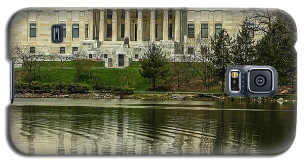 Galaxy S5 Case featuring the photograph Buffalo Historical Society And Library by Don Nieman