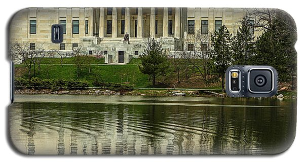 Buffalo Historical Society And Library Galaxy S5 Case by Don Nieman