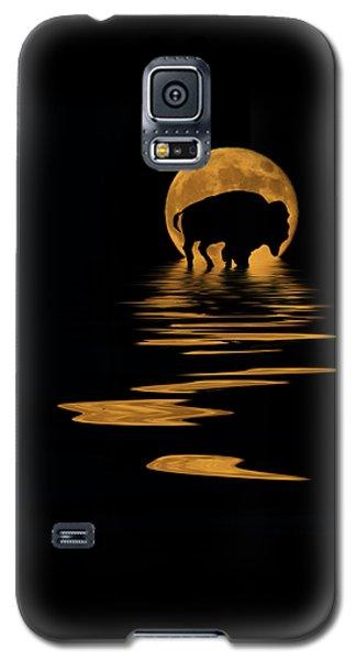 Buffalo In The Moonlight Galaxy S5 Case
