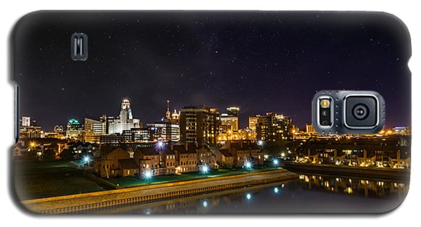 Buffalo Skyline Under The Stars Galaxy S5 Case
