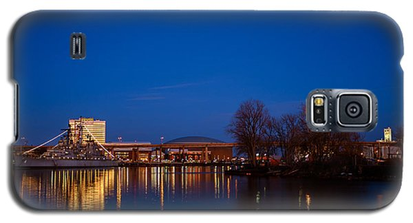Buffalo Waterfront Twilight Galaxy S5 Case