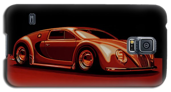 Beetle Galaxy S5 Case - Bugatti Veyron 'beetgatti' 1945 Painting by Paul Meijering