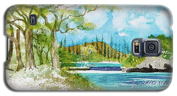 Bugny Trees At Kanumera Bay, Ile Des Pins Galaxy S5 Case